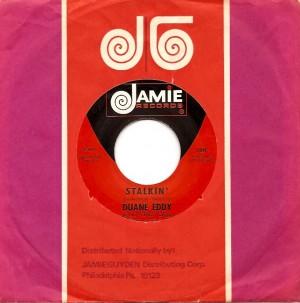 DuaneEddyStalkin, Duane Eddy, Lee Hazelwood, Jamie, American London, Reprise, RCA