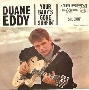 DuaneEddySurfinPS, Duane Eddy, Lee Hazelwood, Jamie, American London, Reprise, RCA