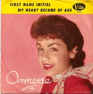 AnnetteFirstNamePS, Annette Funicello, Annette & The Afterbeats, Disney