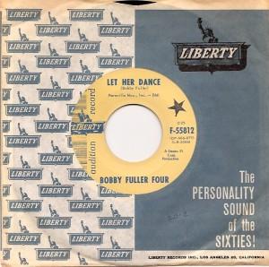 BobbyFullerLetHerDance, Bobby Fuller Four, Mustang, Liberty
