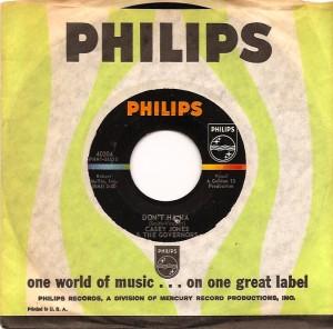 CaseyJones, Casey Jones & The Govenors, Huey Piano Smith, Philips, Eric Clapton, Tom McGuiness