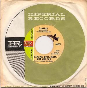 DDDBMTZabadakUSA, Dave Dee Dozy Beaky Mick & Tich, Imperial