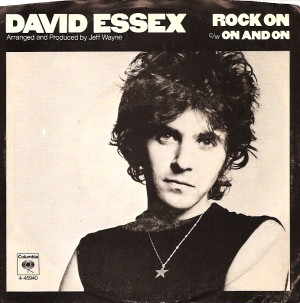DavidEssexRockOnPS, David Essex, CBS, Columbia, Jeff Wayne