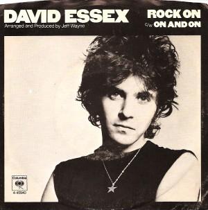 DavidEssexRockOnPS, David Essex, CBS, Columbia, Jeff Wayne