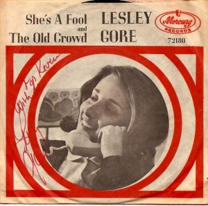 LesleyShesFoolPS, Lesley Gore, Mercury, Quincy Jones, Reprise