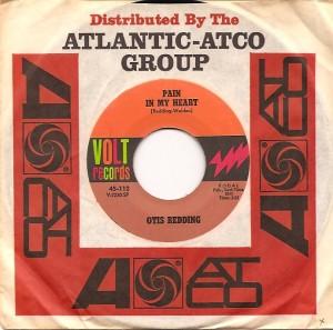 OtisPain, Otis Redding, Volt, Atco, Steve Cropper, Upbeat, The Rolling Stones