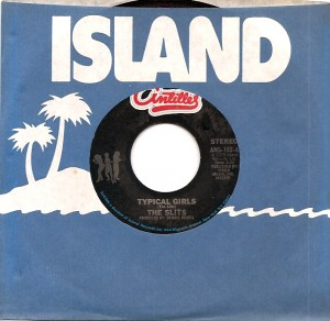SlitsTypicalUS,  The Slits, Island, Antilles, Dennis Bovell, CBS, Howard Thompson