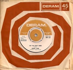 DennyLaineSayUK, Denny Laine, Trevor Burton, Denny Cordell, The Moody Blues, The Move, Balls, Deram, Epic