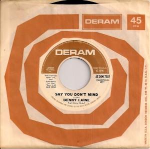 DennyLaineSayUS, Denny Laine, Trevor Burton, Denny Cordell, The Moody Blues, The Move, Balls, Deram, Epic