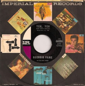 GeorgieFameYehUS, Georgie Fame & The Blue Flames, Imperial, Columbia UK