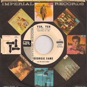 GeorgieFameYehUSA, Georgie Fame & The Blue Flames, Imperial, Columbia UK