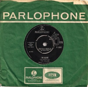HolliesAliveUK, The Hollies, Imperial, Parlophone