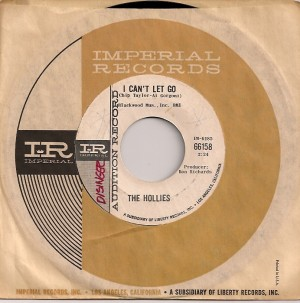 HolliesLetGoUSA, The Hollies, Imperial, Parlophone