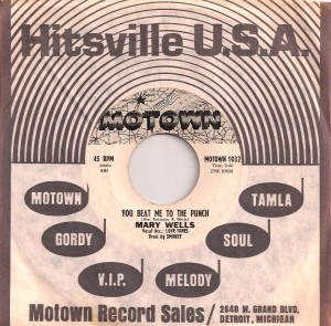 MaryWellsBeatMeUSA, Mary Wells, Atco, Motown, Oriole