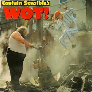 CaptainSensibleWot, Captain Sensible, A&M, The Damned