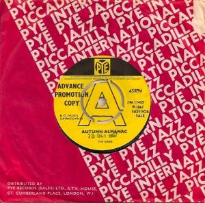 KinksAutumnUKA, The Kinks, Reprise, Pye, Ray Davies