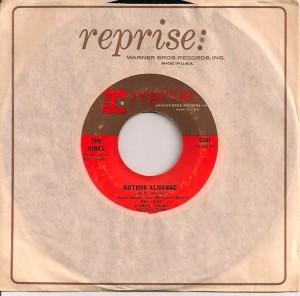 KinksAutumnUS, The Kinks, Reprise, Pye, Ray Davies