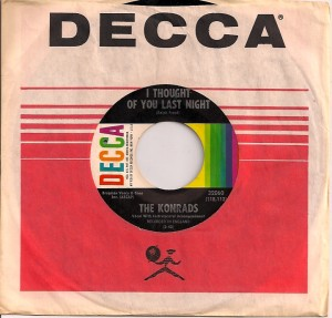 Konrads, The Konrads, Decca, David Bowie