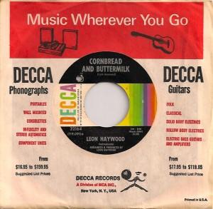LeonHaywoodButtermilk, Leon Haywood, Decca