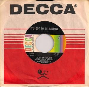 LeonHaywoodMellow, Leon Haywood, Decca
