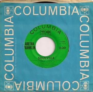 ArethaSoulville, Aretha Franklin, Columbia, Atlantic, John Hammond