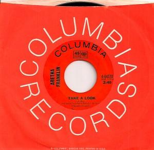 ArethaTakeALook, Aretha Franklin, Columbia, Atlantic, John Hammond