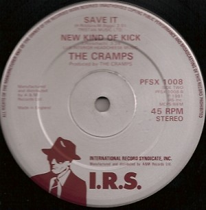 CrampsKick, The Cramps, Kid Congo Powers, Lux Interior, Ivy Rorschach