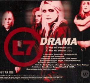 L7Drama, L7, Slash, Suzie Gardner, Donita Sparks