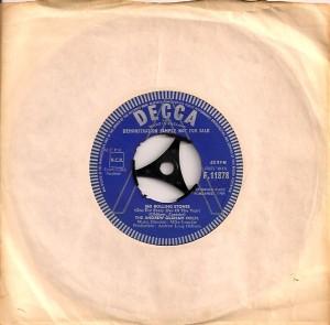 AndrewLoog365, Jukebox Tab, , Decca, The Rolling Stones, Bill Wyman, Charlie Watts, The Andrew Oldham Orchestra