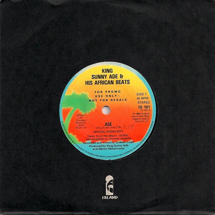 King Sunny Ade & His African Beats « SO MANY RECORDS, SO