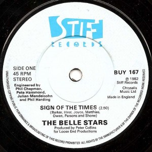 Sign Of The Times / The Belle Stars