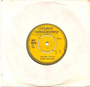 bennyspellmanfortuneuka, Allen Toussaint, London, Decca, Benny Spellman, The Rolling Stones