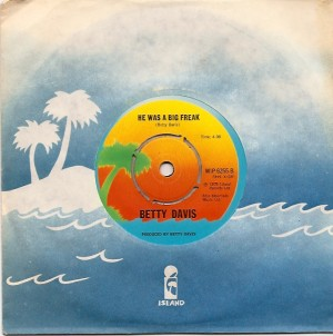 bettydavisfreak, Betty Davis, Miles Davis, Island