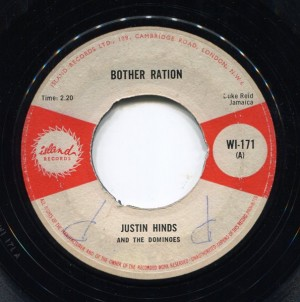 Botheration (Ska) / Justin Hinds & The Dominoes