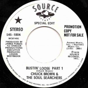 Bustin' Loose Part 1 / Chuck Brown & The Soul Searchers