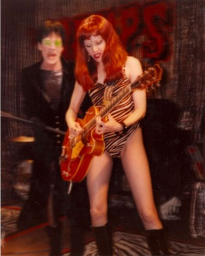 The Cramps, Toad's Place, New Haven, CN. 1998 (Photo: Duane Sherwood)