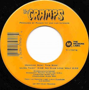 Ultra Twist (Single Version) / The Cramps
