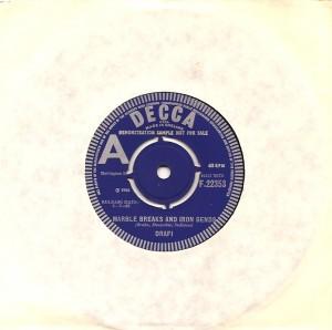 drafimarbleuka, Drafi, Decca, London, WNDR