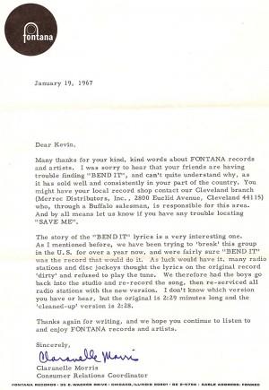 Fontana letter 2