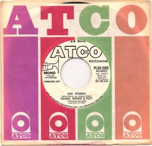 headshandsfeetonewomanusa, Heads Hands & Feet, Atco, Atlantic, Tony Colton, Chas Hodges