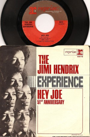 Hey Joe (Single Mono Mix) / The Jimi Hendrix Experience