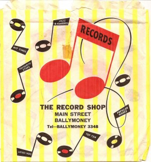 Irish record shop bag 67