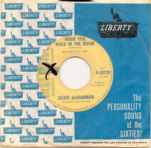 When You Walk In The Room / Jackie DeShannon