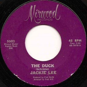 The Duck / Jackie Lee