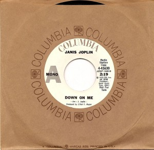 Down On Me / Big Brother & The Holding Company