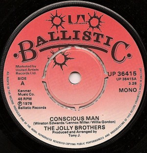 Conscious Man / The Jolly Brothers
