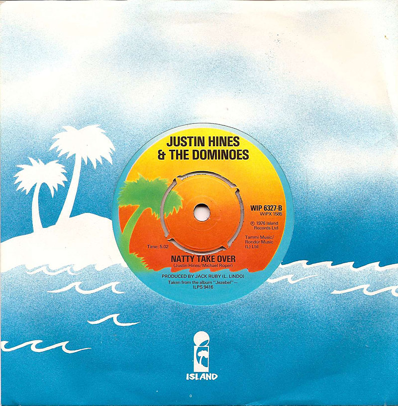 justin hines amp  the dominoes  another of the classic reggae bands on this is