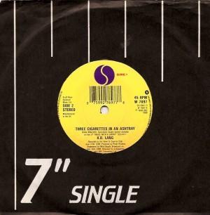 kdlang3cigarettesuk, Patsy Cline, Decca, k. d. lang, Sire