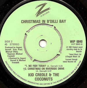 Christmas On Riverside Drive / Kid Creole & The Coconuts