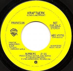 Numbers / Kraftwerk